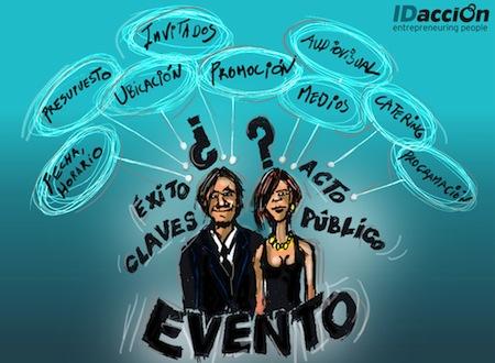 La organizacion de eventos un curso SENA